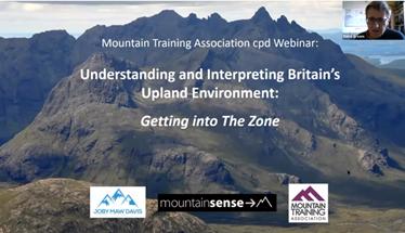 Mountain Training Assosication - Ecology for leaders webinar