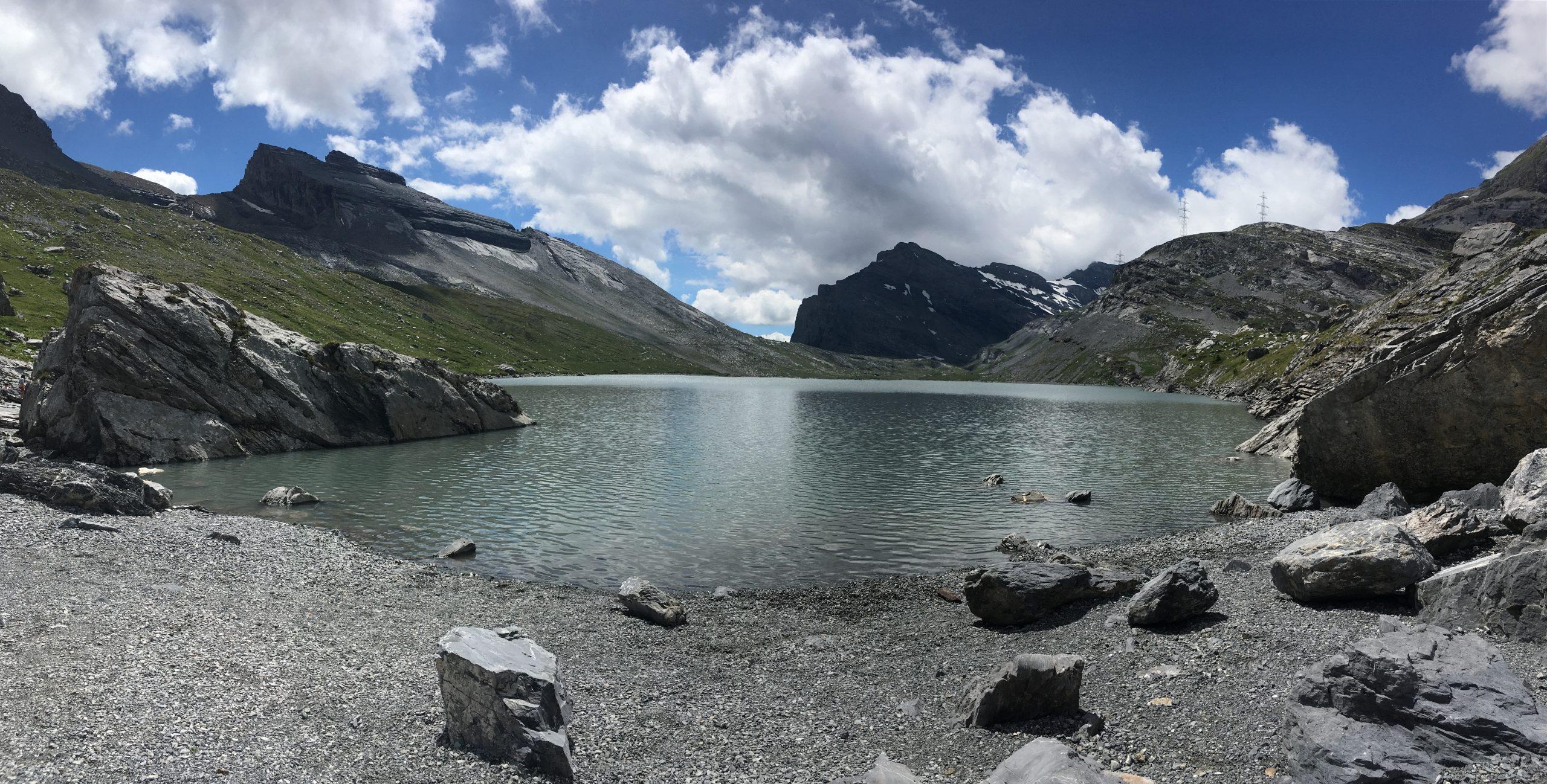 swiss alps – Daubensee Lake Hike